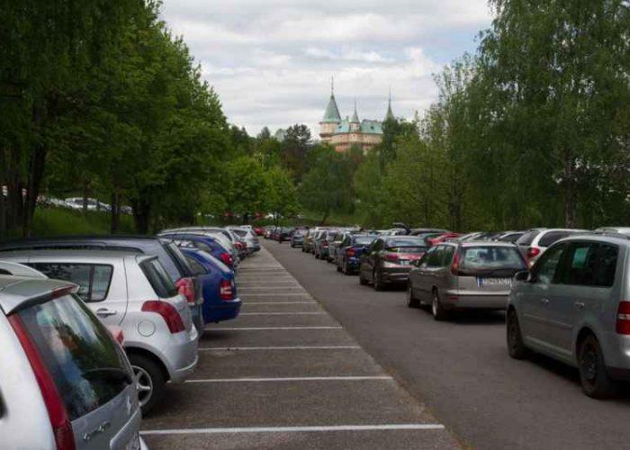 Centrálne parkovisko mesta Bojnice