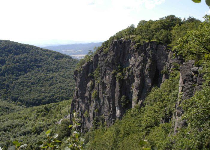 Skala Hrádok lezecká oblasť