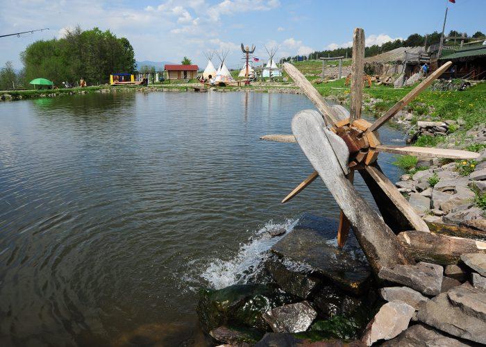 Rybníky a Grill Sebedražie