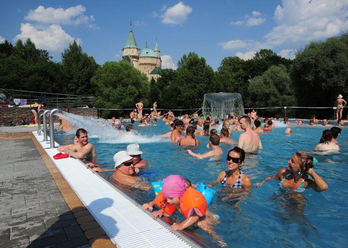 Letné kúpalisko Čajka