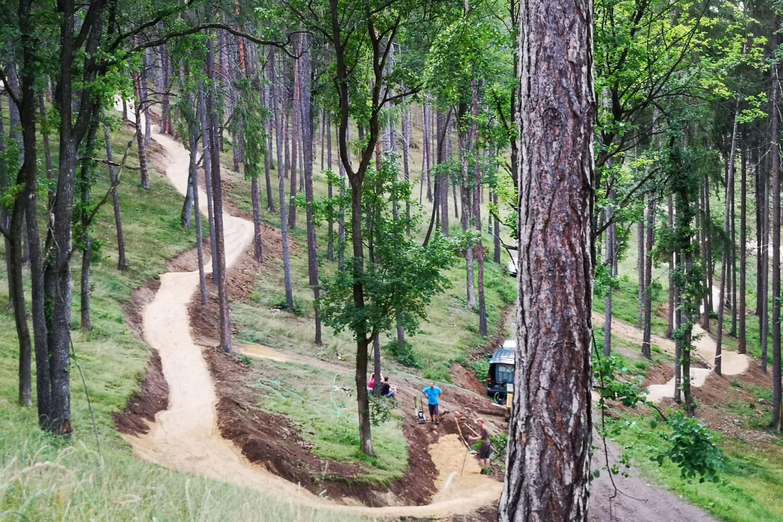 Bojnicko Dubnické cyklotrasy a traily