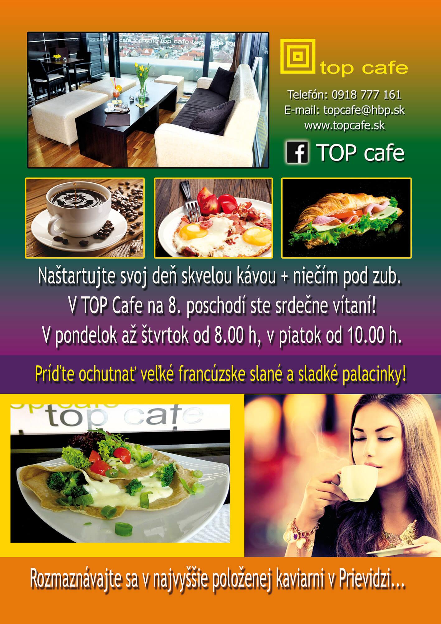 TOP CAFE Prievidza